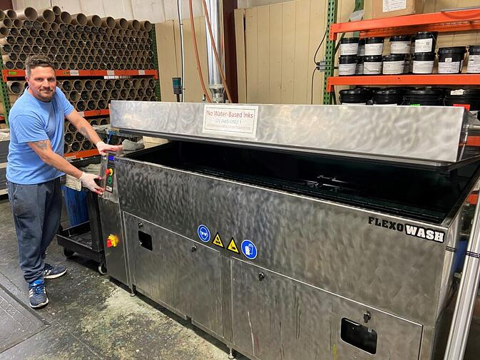 Flexo Graphic cleaning