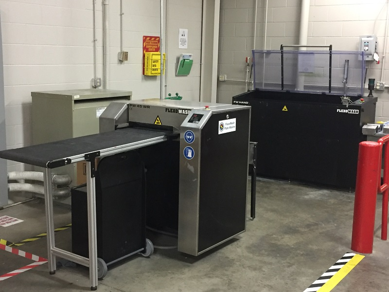 Flexo Wash Plate Washer and Anilox Cleaner