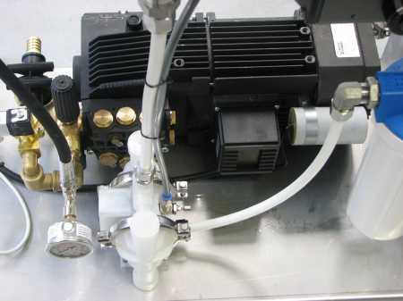 diaphragm pump parts washer